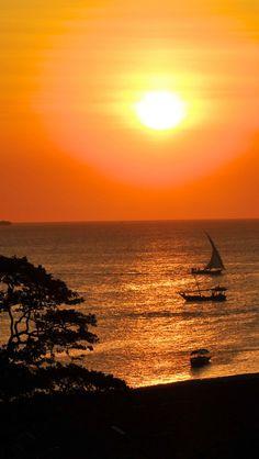 Zanzibar Sunset, Tanzania