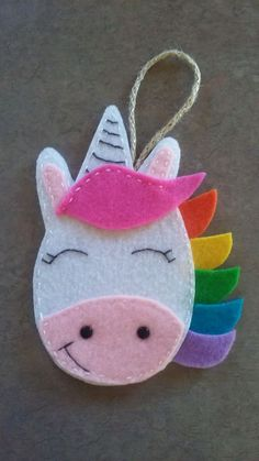 Cute Felt Unicorn