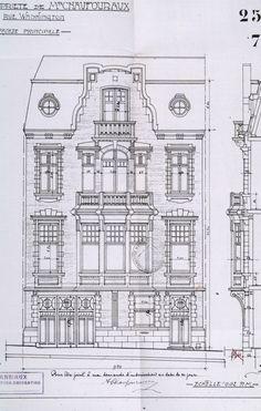 Ixelles - Rue Washington 115 - ANSIAUX J.