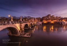 Ponte Sant'Angelo by allthatjazz #architecture #building #architexture #city #buildings #skyscraper #urban #design #minimal #cities #town #street #art #arts #architecturelovers #abstract #photooftheday #amazing #picoftheday