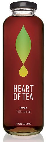 Heart of Tea Lemon #packaging PD