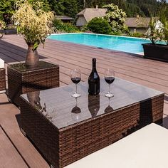 Patio Glass Table Tops
