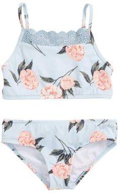 78f36417b2 Billabong Petal Daze Two-Piece Swimsuit (Little Girls & Big Girls)    Nordstrom