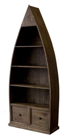 The Sundried Lifestyle Dinghy Boat from LH Imports is a unique home decor item. LH Imports Site carries a variety of Bookcases and other  Products furnishings.