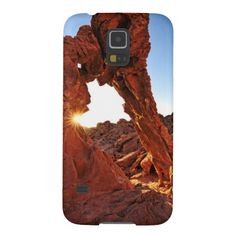 Elephant Rock in the Valley of Fire Cases For Galaxy S5