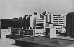 Army Barracks, West Kensington, London, UK, 1970s (Owen Luder Partnership)
