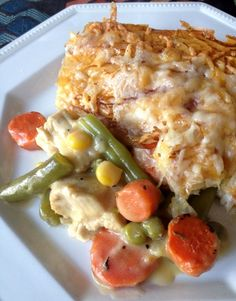 Chicken Pie With Summer Vegetables