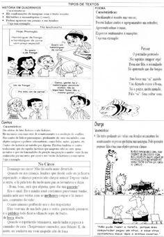 ATIVIDADES DIVERSAS CLÁUDIA: PORTUGUÊS 2 Atividades Língua Portuguesa: TIPOS DE...