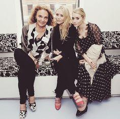 MK, Ashley & DVF