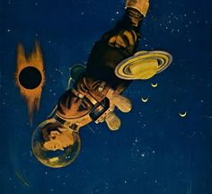 Howard V. Brown - The Man From The Atom, 1923 / The Science Fiction Gallery