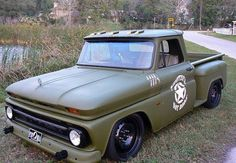 Awesome looking 1964 Chevy pickup truck!