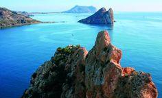 Isla del Fraile Águilas, Murcia, España