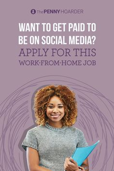 Do you know your way around Facebook and Twitter? Do you want to work from home? You may be interested in a job we just learned about from a reader. Here's how to apply. @thepennyhoarder