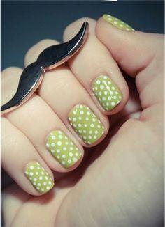 nail art: leuke bolletjes