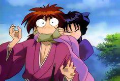 Rurouni Kenshin funny | Funny Kenshin and Kaoru! Haha! photo funnyKenshinandKaoru.jpg