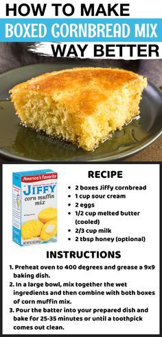 Great Recipes, Favorite Recipes, Biscuit Bread, Good Food, Yummy Food, Food To Make, Food And Drink, Cooking Recipes, Cornbread Mix