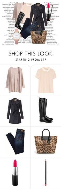"""""""Untitled #121"""" by dreamer3108 on Polyvore featuring Marc by Marc Jacobs, Burberry, American Eagle Outfitters, Dolce&Gabbana, MAC Cosmetics and Oasis"""