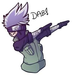 Awwwww Master Kakashi is dabbing. wait dabbing is bad for you🙀 Kakashi Hatake, Gaara, Naruto Uzumaki, Anime Naruto, Naruto Funny, Naruto Art, Otaku Anime, Itachi, Manga Anime