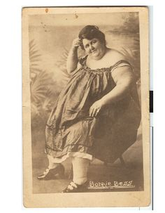 Sideshow fat lady Bonnie Bess CDV c. Fat Lady, Chubby Girl, Big Top, Fat Women, Sideshow, Show Photos, Ephemera, Carnival, Fiction