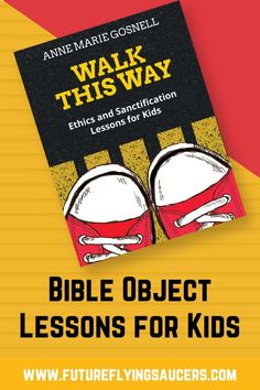 Grab the attention of children ages 5 through 12 with 20 fun, easy-to-prepare, hands-on Bible object lessons! The lessons in Walk This Way: Ethics and Sanctification Lessons for Kids are enjoyed by kids and adults alike and spark engaging dialogue about life issues. Perfect for Sunday School, Awana, small groups, and other Children's Ministry activities. #bibleobjectlessonsforkids #childrenschurchobjectlessons #childrenssermons Bible Study Plans, Bible Study For Kids, Bible Study Tools, Bible Lessons For Kids, Sunday School Curriculum, Sunday School Activities, Sunday School Lessons, Mom Devotional, Bible Object Lessons