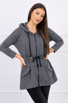 Fashion Addict, Outfit Of The Day, Hooded Jacket, Street Wear, Street Style, Zip, Stylish, Womens Fashion, Jackets