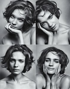Natalia Vodianova LOVE her hair Pictures Of Short Haircuts, Cool Short Hairstyles, Short Hair Styles, Haircut Pictures, School Hairstyles, Hairstyles 2016, Curly Hairstyles, Portrait Photography Poses, Portrait Poses