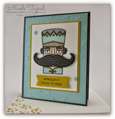 Be Creative with Nicole: Santa Stache for CCMC318