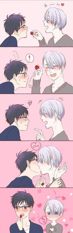 Imagen de anime, yuri on ice, and yuri