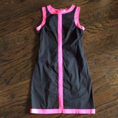 24hr sale- Pink and black sleeveless dress Pink and black sleeveless dress Z universe Dresses