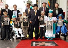 Did you know that on November 20, 2007, the Munchkins finally received their star on The Hollywood (CA) Walk of Fame?