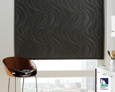 Marvi Interiors​ Roller Dark out fabric, block of incoming light; great for bedrooms, offices and home theatres; outside mounts help block most light. Roller Shades, Roller Blinds, Window Coverings, Window Treatments, Cortinas Rollers, Triangle Window, Hunter Douglas Blinds, Bedroom Blinds, Shades Blinds