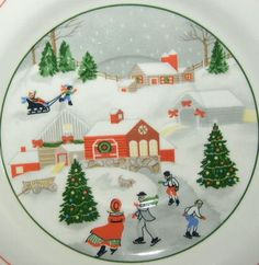 my Christmas Dishes