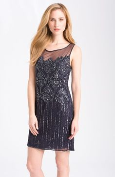 Bridesmaid Dress: Nordstrom with beautiful beadwork.