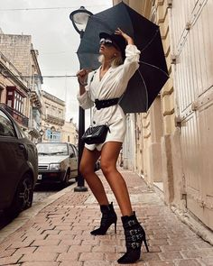 Better bring out your umbrellas. It looks like we're gonna have a stormy weekend ☔️ Shoes & ba Santorini, Mini Skirts, Hipster, Bring It On, Wellness, Shoe Bag, Instagram, Umbrellas, Bags