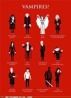 vampire types
