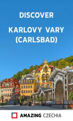 Karlovy Vary (a. Carlsbad) is a town in the west of Czechia. It is very a famous spa resort, visited by many celebrities from all over the world. Europe Travel Outfits, Europe Travel Guide, Europe Destinations, Us Travel, Travel Guides, Europe Bucket List, International Film Festival, European Travel, Resort Spa