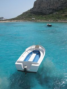 From our boat trip on the Greek Island of Crete.  Oh, take me back!