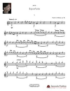 Española by Wallace Sheet Music, Musica, Music Sheets