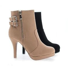 Dress up any outfit with these classic stiletto heel ankle booties 039ca04c4072