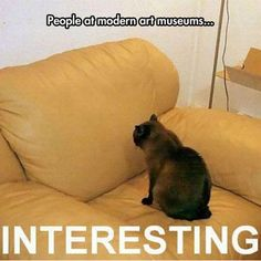 Funny Memes - [People At Modern Art Museums...]