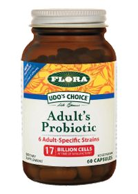Udo'S Choice Adult'S Probiotic by Flora - Buy Udo'S Choice Adult'S Probiotic (17 BILLION CELL) 60 Capsules at