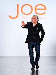 Take a Bow: Joe Mimran after the Joe Fresh 2012 Runway Collection.