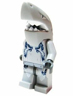 Shark Warrior - LEGO Atlantis Minifigure by LEGO. $7.45. From the Atlantis product line.. Collectible LEGO minifigure.. this is a loose lego minifig removed from package for display only, has not been played with