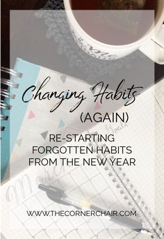 Habits... there are new ones, & old ones. Some are good for our health. Some are good for our loved ones. Click to keep reading more about changing habits (again).