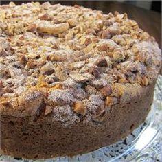 Easy Chocolate Chip Coffee Cake - Allrecipes.com