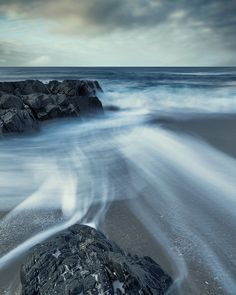 Beach III, photography by David Baker. A Harris beach in the Outer Hebrides..