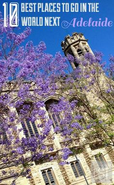 10 best places to go in the world - travel to Adelaide, Australia, for festivals, sport and food and wine.