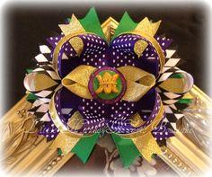OTT Mardi Gras Hairbow