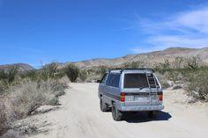 Van Life in Anza Borrego National Park