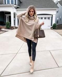 Business Casual Outfits, Casual Winter Outfits, Classy Outfits, Stylish Outfits, Winter Sweater Outfits, Outfit Winter, Winter Fashion Outfits, Autumn Fashion, Elegantes Outfit Frau